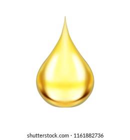 oil vector drop