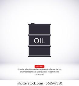 oil vector ICON