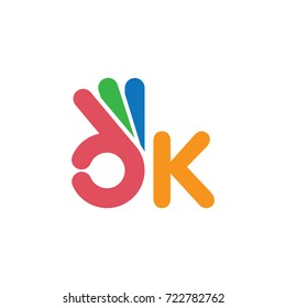 ok symbol , finger stylized creative vector sign design logo template