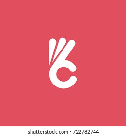 ok symbol , finger vector sign design logo template