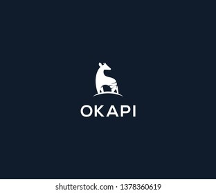 okapi logo design template