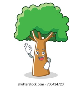 Cartoon Tree Character Images Stock Photos Vectors Shutterstock Check out our cartoon tree selection for the very best in unique or custom, handmade pieces from our party décor shops. https www shutterstock com image vector okay tree character cartoon style 730414723