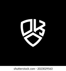 OKO Unique abstract geometric vector logo design
