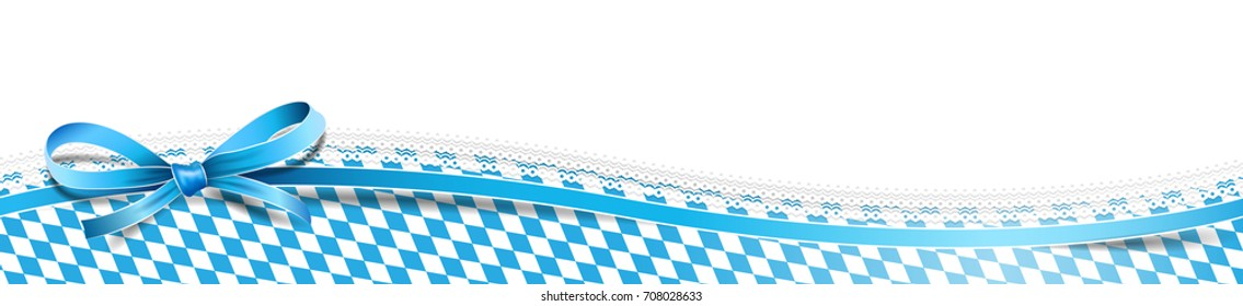 Oktoberfest bavarian banner