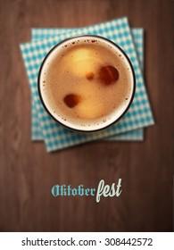Oktoberfest, beer festival, eps 10
