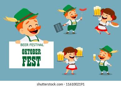 Oktoberfest Cartoon Images Stock Photos Vectors Shutterstock