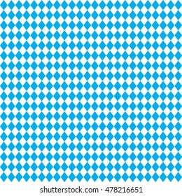 OKTOBERFEST blue Abstract geometric pattern. October festival Vector illustration, blue color. Germany's Oktoberfest world's biggest wine festival. Seamless Oktoberfest and Bavarian flag pattern. 2018