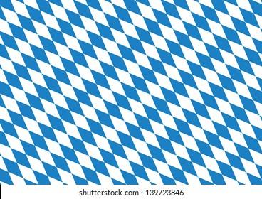 Oktoberfest blue checkered background