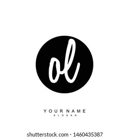 OL Initial beauty floral logo template