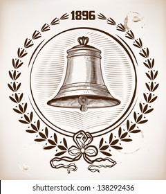 Old bell card