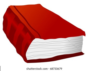 Old book. Vector