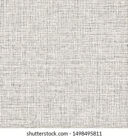 Old canvas texture. Jute or hemp fabric. Sackcloth. Cover. Mesh. Vector illustration.
