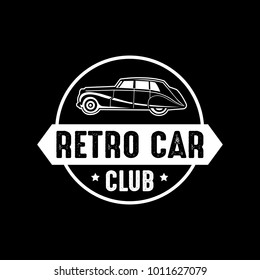 Old Car Classic Car Vintage Car Retro Car. You can see logo or badge for all.