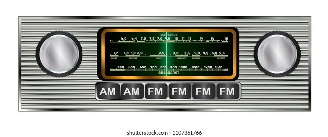 Old Car Radio