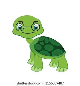 old cartoon tortoise