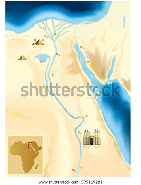 old egypt map