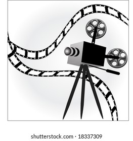 Old Film Projector Images, Stock Photos & Vectors | Shutterstock