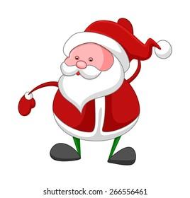 Old Funny Santa Claus