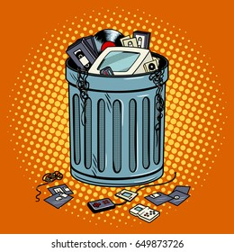 Imágenes, fotos de stock y vectores sobre Trash Tv