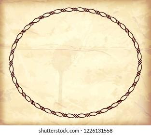 Old Gravure art frame