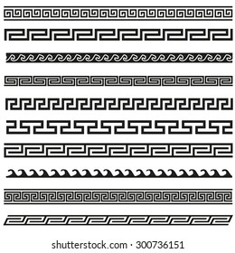 Old greek border designs