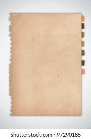 Old Grunge Paper Vector
