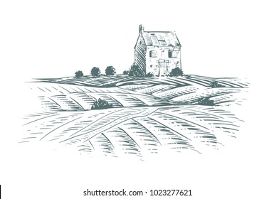 Old House on a Hill