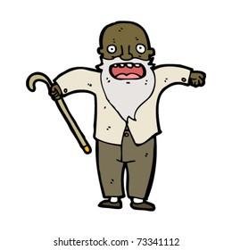 old man cartoon