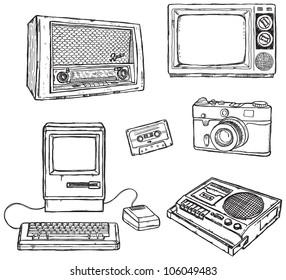 Old media equipment
