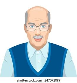 Old men portrait