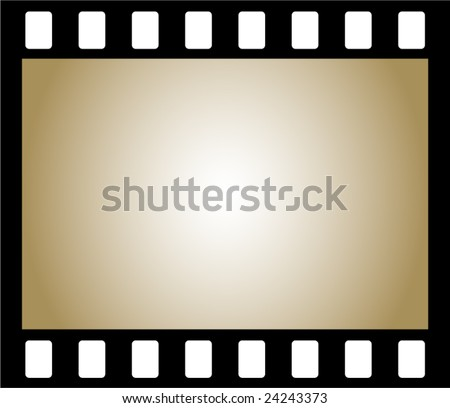 Old Negative Photo Film Frame Stock Vector Royalty Free 24243373