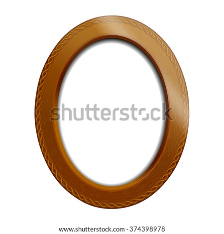 Victorian Style Oval Picture Frames Vintage Download Free Vector Art