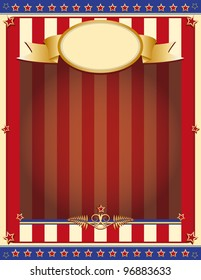 old patriotic background. American background for your advertising