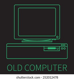 Old personal computer