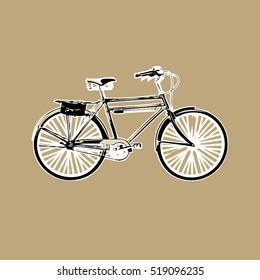 Old Retro Bicycle