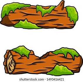 Wood Log Sketch Stock Vectors Images Vector Art