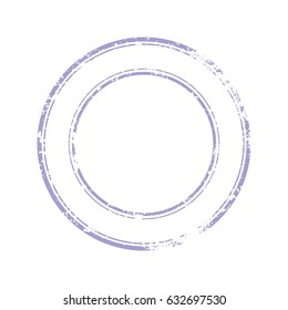Old Rubber stamp for documents. Abstract stamps template with varying degrees of ink.