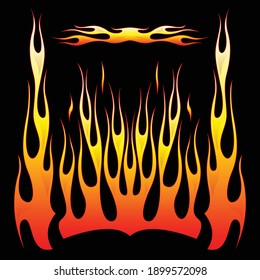 Old School Hot Rod Flames