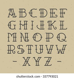 Royalty Free Tattoo Letters Images Stock Photos Vectors