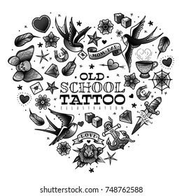 1000 Old School Tattoo Pictures Royalty Free Images Stock Photos