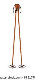 Old ski poles