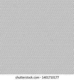 Old sturdy fabric texture. Detail. Canvas. Cover. Monochrome. Vector illustration.