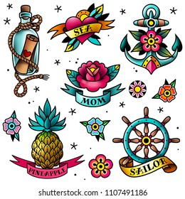 Sailor Tattoos Images Stock Photos Vectors Shutterstock
