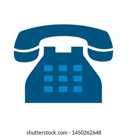old telephone icon. Logo element illustration. old telephone symbol design. colored collection.  old telephone concept. Can be used in web and mobile