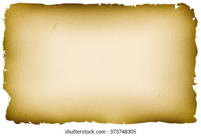 Old Textured Parchment Background/ Illustration of an old vintage pirate or medieval used parchment, for treasure map, holidays announcement or game ui background on tablet pc