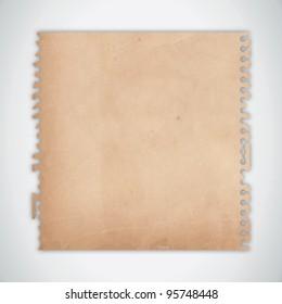 Old Torn Paper Texture Vector
