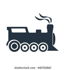old train icon - travel 100 set