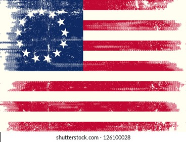 Old union dirty flag. Betsy Ross Flag for you