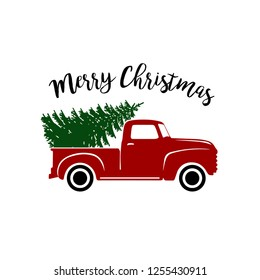 Christmas Red Truck.Christmas Truck Images Stock Photos Vectors Shutterstock