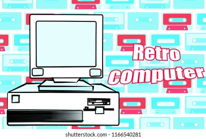 Old Desktop Computer Stock Vectors, Images & Vector Art | Shutterstock
